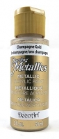 DECOART DAZZLING METALLICS CHAMPAGNE GOLD 59mL # - Click for more info