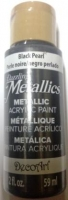 DECOART DAZZLING METALLICS BLACK PEARL 59 ML # - Click for more info