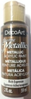 DECOART DAZZLING METALLICS RICH ESPRESSO 59 ML # - Click for more info