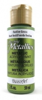 DECOART DAZZLING METALLICS FESTIVE GREEN 59 ML # - Click for more info
