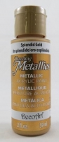 DECOART DAZZLING METALLICS SPLENDID GOLD 59mL # - Click for more info