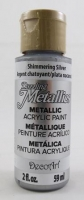 DECOART DAZZLING METALLICS SHIMMER SILVER 59mL # - Click for more info