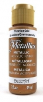 DECOART DAZZLING METALLICS VENETIAN GOLD 59 ML # - Click for more info
