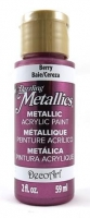 DECOART DAZZLING METALLICS BERRY 59mL # - Click for more info