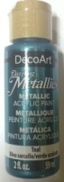DECOART DAZZLING METALLICS TEAL 59mL # - Click for more info