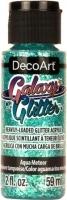 Decoart Galaxy Glitter, AQUA METETOR - Click for more info