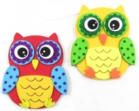 FOAM DIY OWL KIT - MAKES 10 - Click for more info