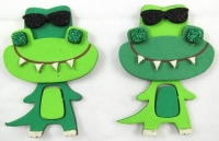 FOAM DIY CROCODILE KIT - MAKES 10 - Click for more info
