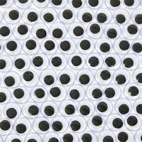 LITTLE EYES JOGGLE GLUE 10MM 100 PC ^ - Click for more info