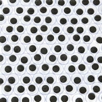 LITTLE EYES JOGGLE GLUE 12mm 100 PC : - Click for more info