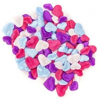 LITTLE PUFFY SHAPES HEARTS 130 PC ^ - Click for more info