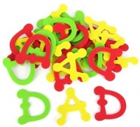 FOAM DAD LETTERS 30 PC - Click for more info