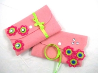FELT PURSE KIT - MAKES 10* - Click for more info