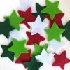 FELT CHRISTMAS STARS 20 PC - Click for more info