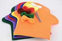 FELT SHAPES PUPPET LGE MULTI 6 SETS/BAG - Click for more info