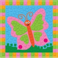 FOAM MOSAIC KIT BUTTERFLY - MAKES 10 - Click for more info