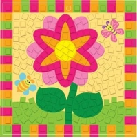 FOAM MOSAIC KIT FLOWER - MAKES 10* - Click for more info