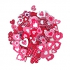 FOAM STICKERS HEART 120 PC - Click for more info
