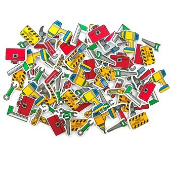 FOAM STICKERS TOOLS 100 PC - Click for more info