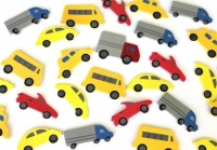 FOAM STICKERS CARS 102 PC - Click for more info