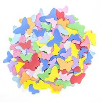 LITTLE FOAM SHAPES BUTTERFLIES 160 PC : - Click for more info