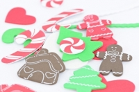 FOAM SHAPES XMAS ASSTD 100 GM - Click for more info