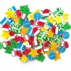 FOAM STICKERS CHRISTMAS BRIGHT 86 PC - Click for more info