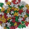 FOAM STICKERS GLITTER BOWS 100 PC - Click for more info