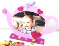 FOAM TEAPOT FRAME 10 PC/PKT* - Click for more info