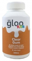 GLOO KIDS CLEAR GUM GLUE W/SPREADER 250ML # - Click for more info