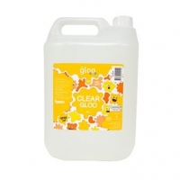 GLOO KIDS CLEAR GUM GLUE 5L # - Click for more info