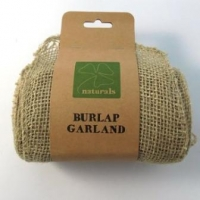 BURLAP GARLAND  5M NATURAL 1PC # - Click for more info