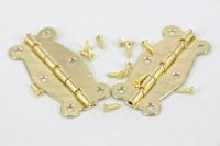 HINGE BRASS #209 GOLD 2 PC/PKT # - Click for more info