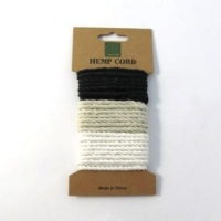 HEMP CORD TWISTED MIX #1 - 3 X 1.7M # - Click for more info
