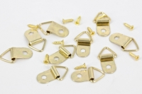 HANGER PICTURE BRASS SML 10 PC/PKT # - Click for more info