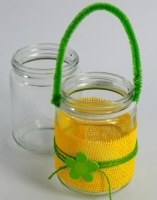 GLASS JAR CLEAR 8 X 11cm 6 PC* - Click for more info