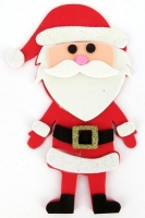 FOAM XMAS SANTA KIT - MAKES 20 - Click for more info