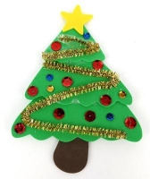 FOAM XMAS TREE KIT - MAKES 20* - Click for more info