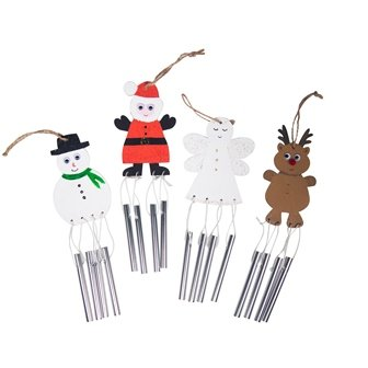 CHRISTMAS WINDCHIME BUMPER PACK OF 24 - Click for more info