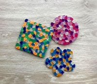 MOSAIC COASTER KIT (MAKES 30) - Click for more info