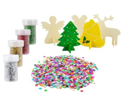 CHRISTMAS 3D SHAPE KIT (MAKES 50) - Click for more info