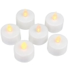 LED TEALIGHT CANDLES 12 PC - Click for more info