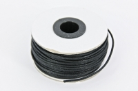 LEATHER ROUND IMITATION BLACK 2mm 27 M* - Click for more info