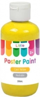 LITTLE 250ML EASY WASHABLE POSTER PAINT COOL YELLOW - Click for more info