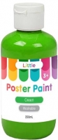 LITTLE EASY WASHABLE POSTER PAINT GREEN 250mL - Click for more info