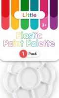LITTLE PLASTIC PAINT PALETTE 1 PC - Click for more info