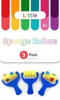 LITTLE SPONGE ROLLERS 3 PC - Click for more info