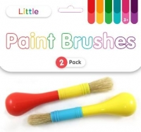 LITTLE PAINT BRUSHES 2 PC - Click for more info
