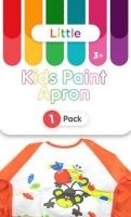 LITTLE KIDS PAINT APRON 1 PC - Click for more info