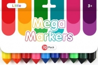 LITTLE CHUNKY MARKERS 10 PC - Click for more info